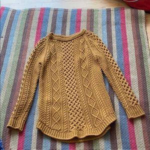 LLBean Wool Fisherman's sweater. Worn once.